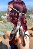 Feather Headband #B1026