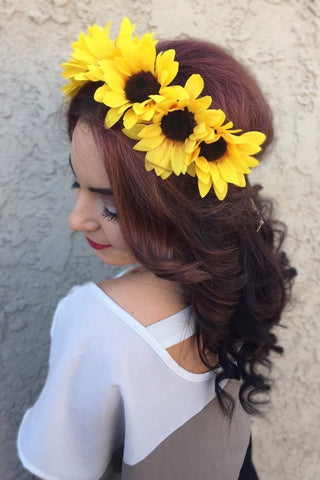 Sunflower Headband #C1069