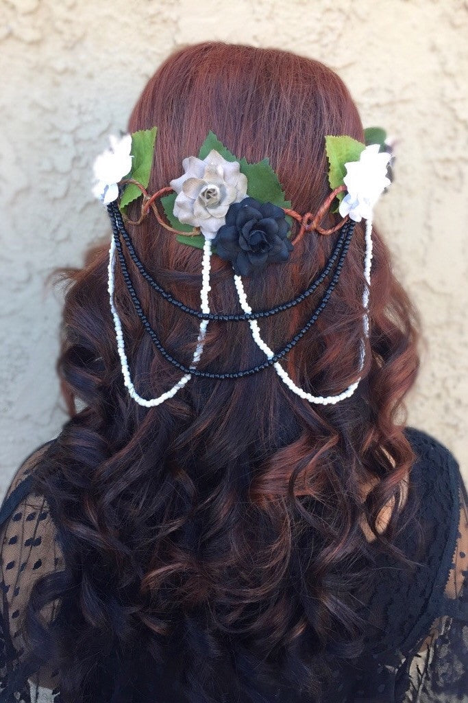 Forest Flower Crown #D1018