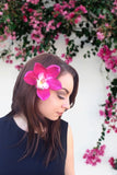 Orchid Hair Clip #F1016