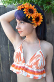 Fall Sunflower Headband #C1033