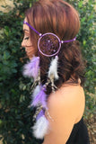Purple Dreamcatcher Headband #A1025