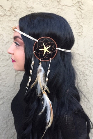 Sea Dreamcatcher Headband #A1027