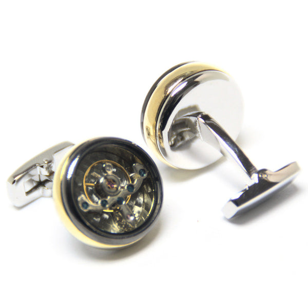 Mancuernillas Tourbillon Spinki