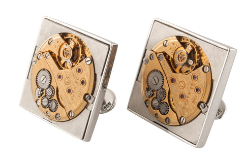Vintage Soviet watch movement