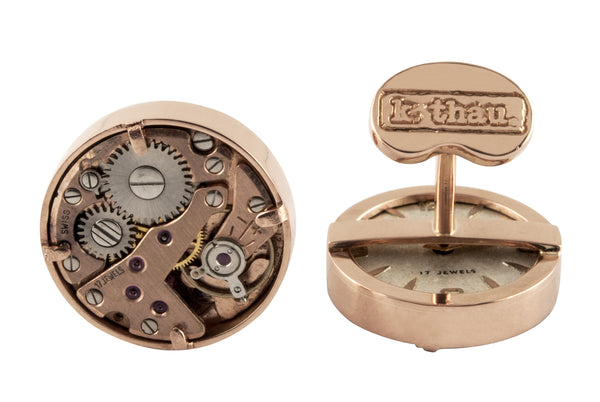 18k Red Gold Watch Movement