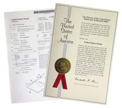 United States patent documents for Cibocal food cutting board