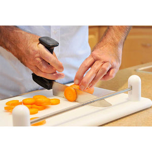 Classic Cutting Board + Stirex U-2 Chef Knife 20cm + Food Scoop : Set - Cibocal