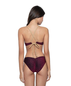 Garnet Basic Ruched Bottoms