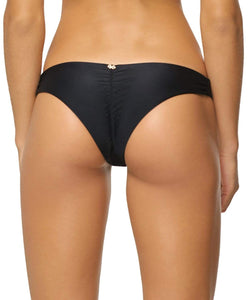 Midnight Basic Ruched Bottoms - PilyQ