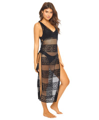 Midnight Gold Joy Lace Cover Up - PilyQ