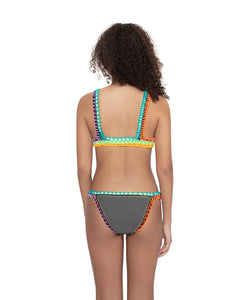Ferrarini by PQ Swim Sand Reef Crochet Top