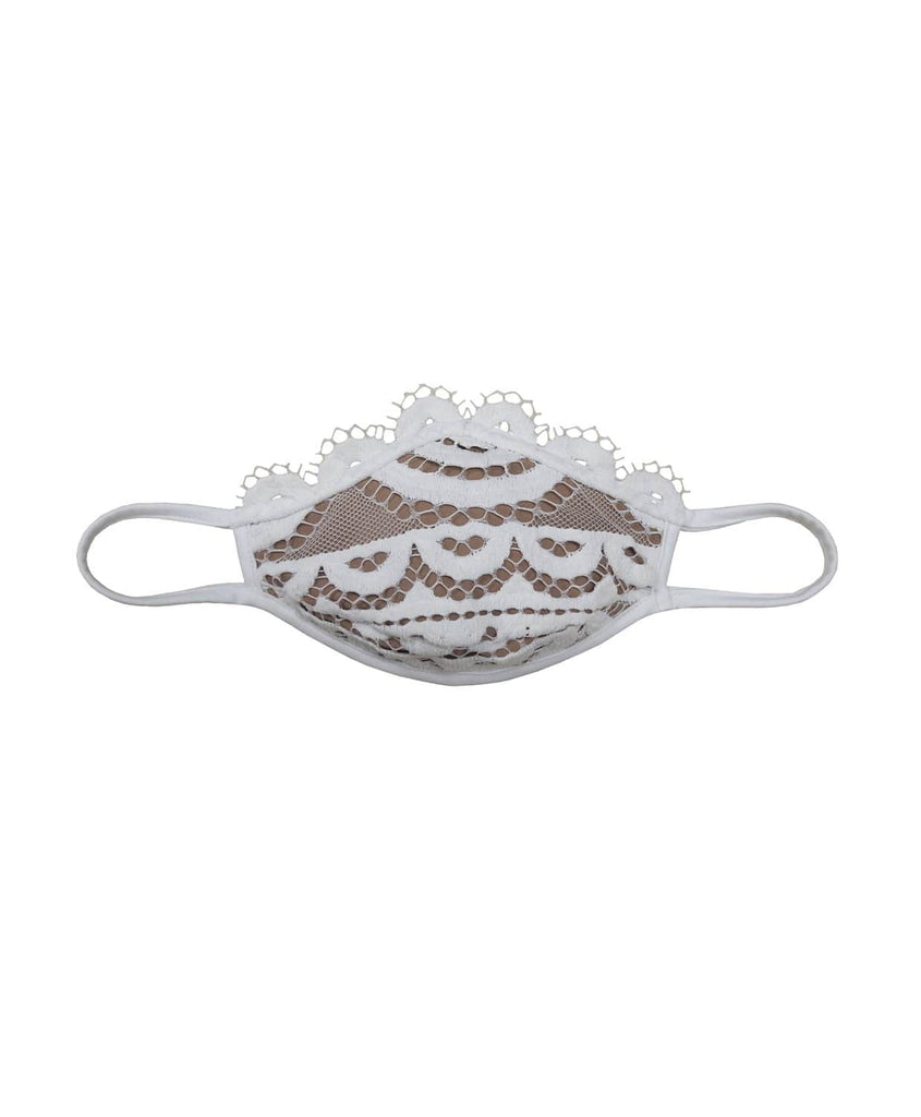 Water Lily Lace Adult MasQini Face Mask (Pre-Order Expected Delivery 5/20-5/25) - PilyQ