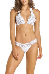Water Lily Lace Banded Bottoms - PilyQ