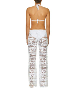 Water Lily Malibu Lace Pants - PilyQ
