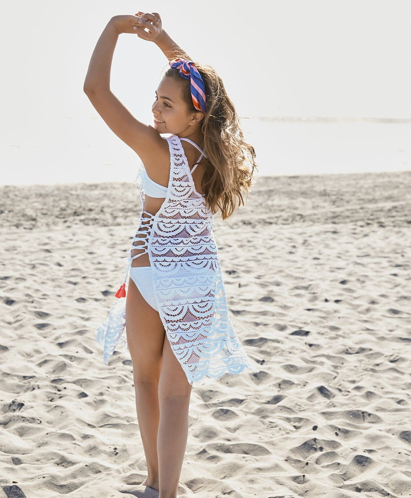 Water Lily Little Joy Lace Cover Up - PilyQ