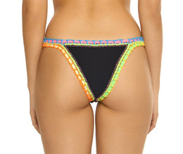 Ferrarini by PQ Swim Black Crochet Bottom - PilyQ