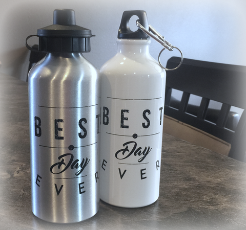 BEST DAY EVER ECO-FRIENDLY WATER BOTTLE