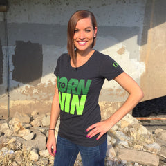 Women's Greatness 'Born to Win' Tee