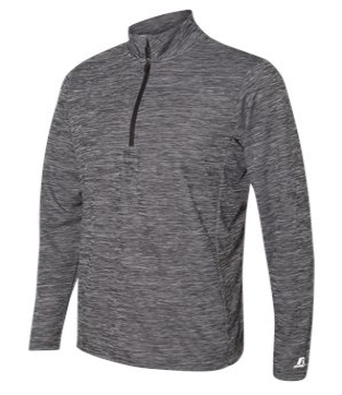 Men's Embroidered Logo Russell Athletic Quarter Zip
