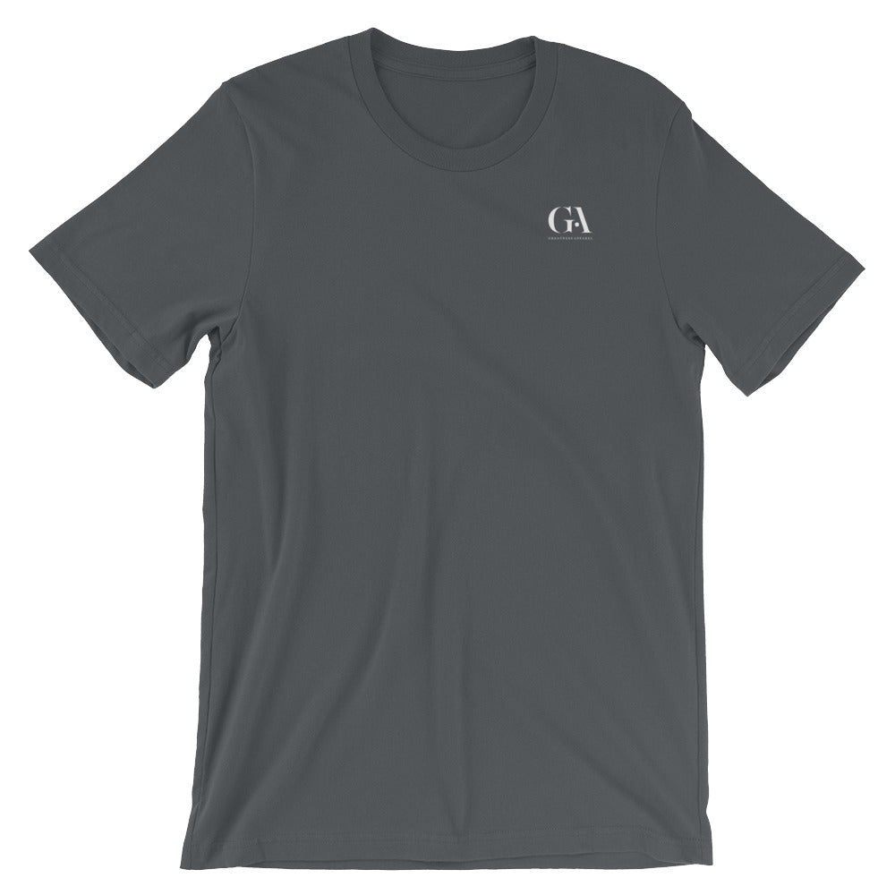 Greatness Apparel's Black Logo Tee