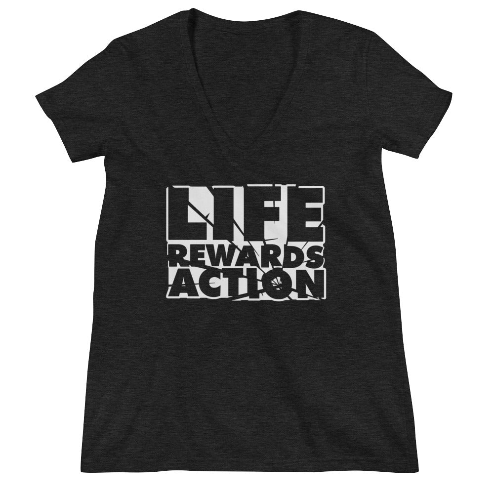 Life Rewards Actions- Women's V-Neck