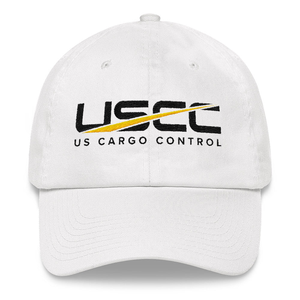 USCC White Dad hat