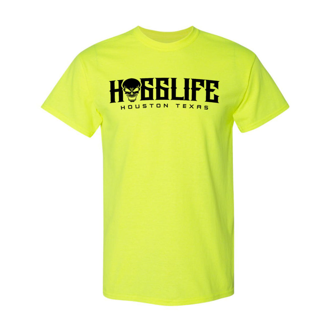 HoggLife Family Tee - Neon/Black