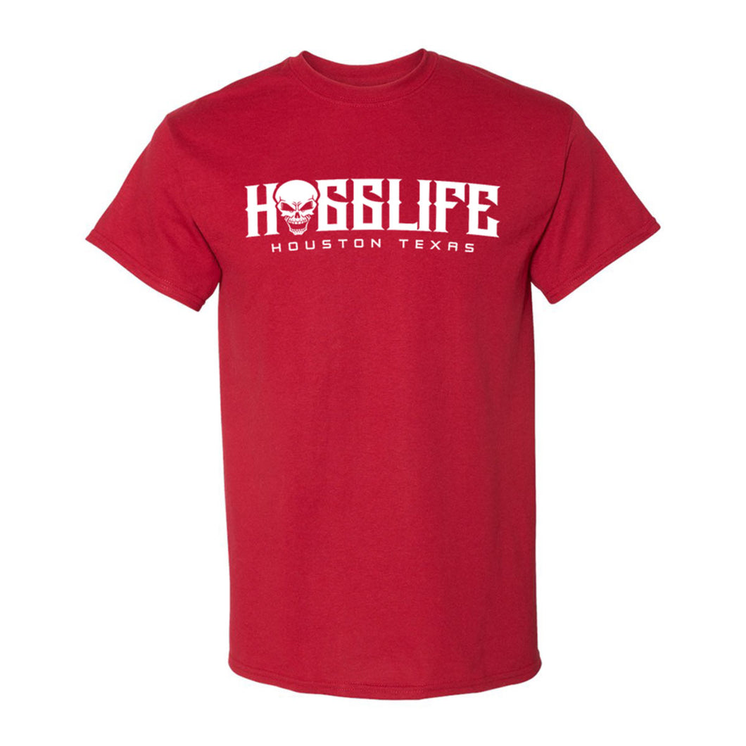 HoggLife Family Tee - Red/White