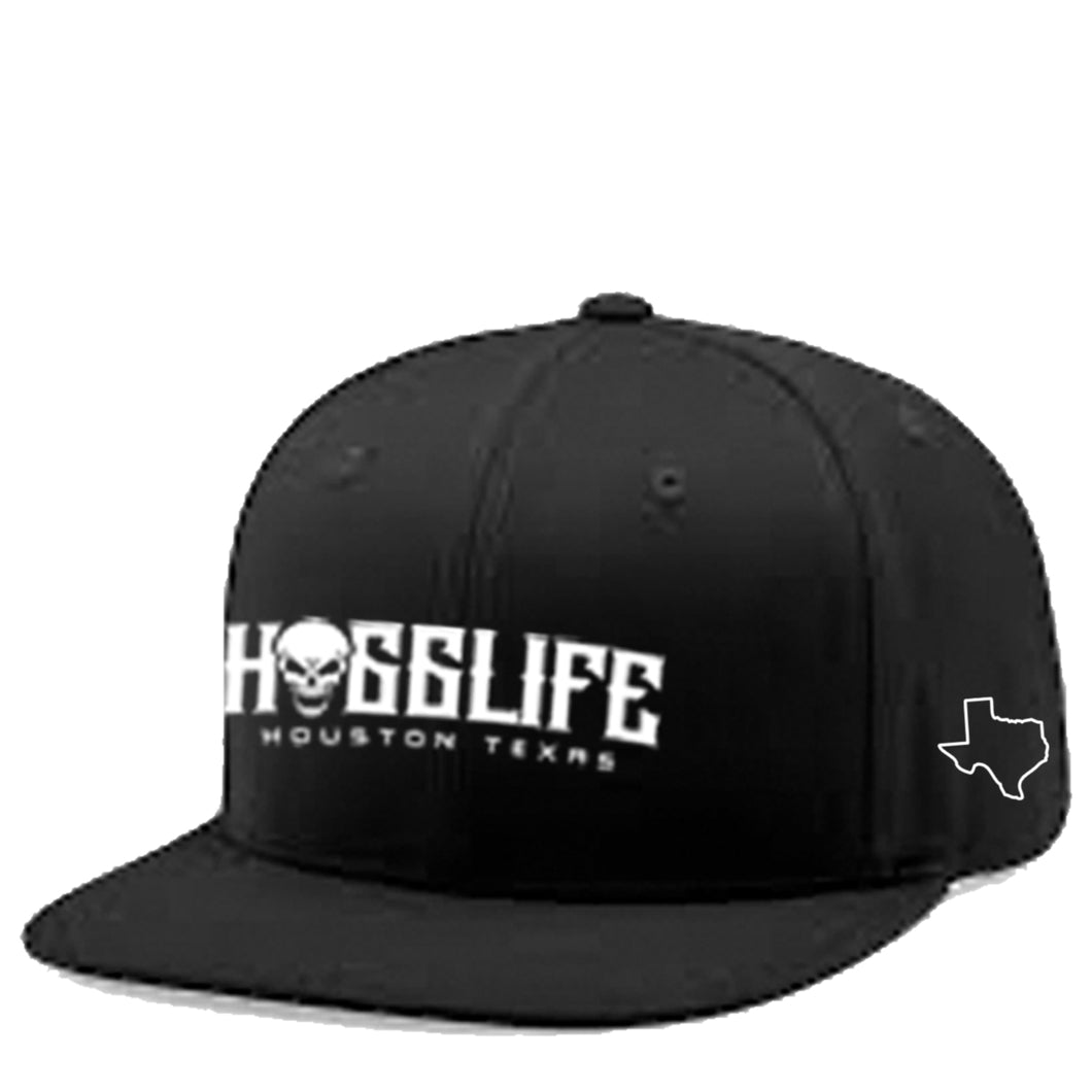 HoggLife Family Snapback - Black/White