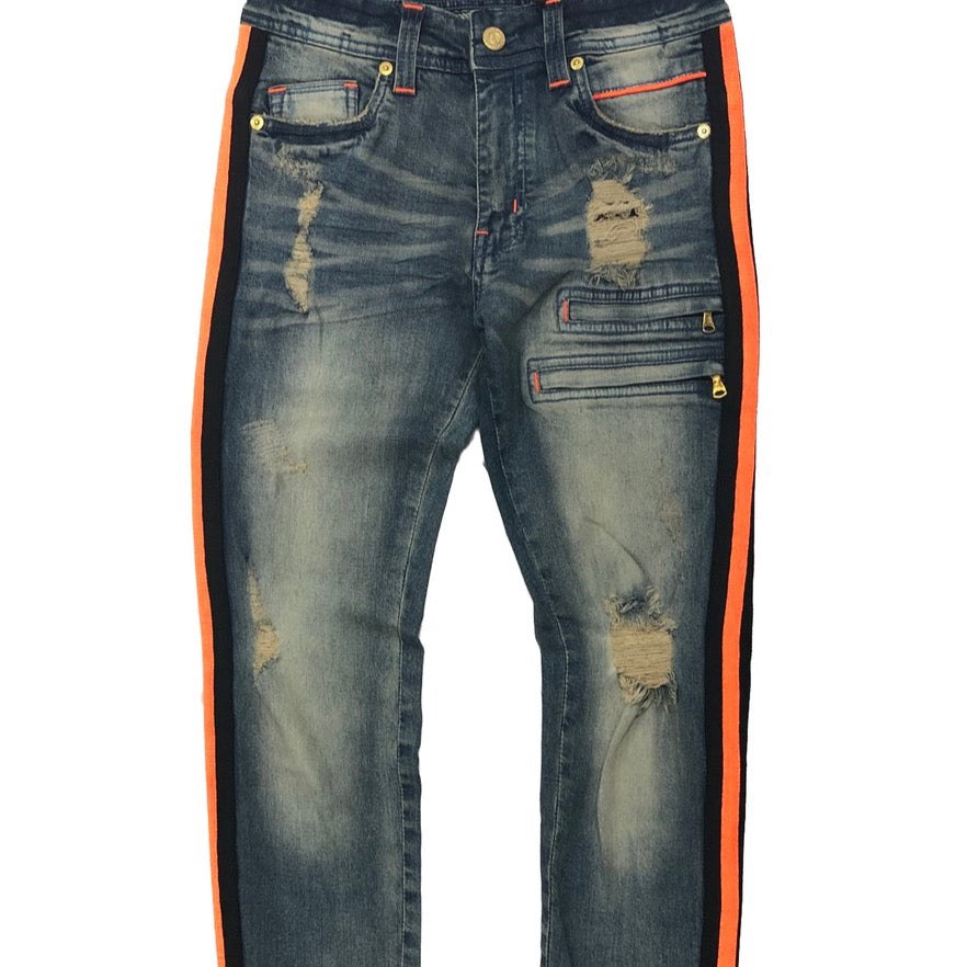 Elite Premium Denim Fire Jeans