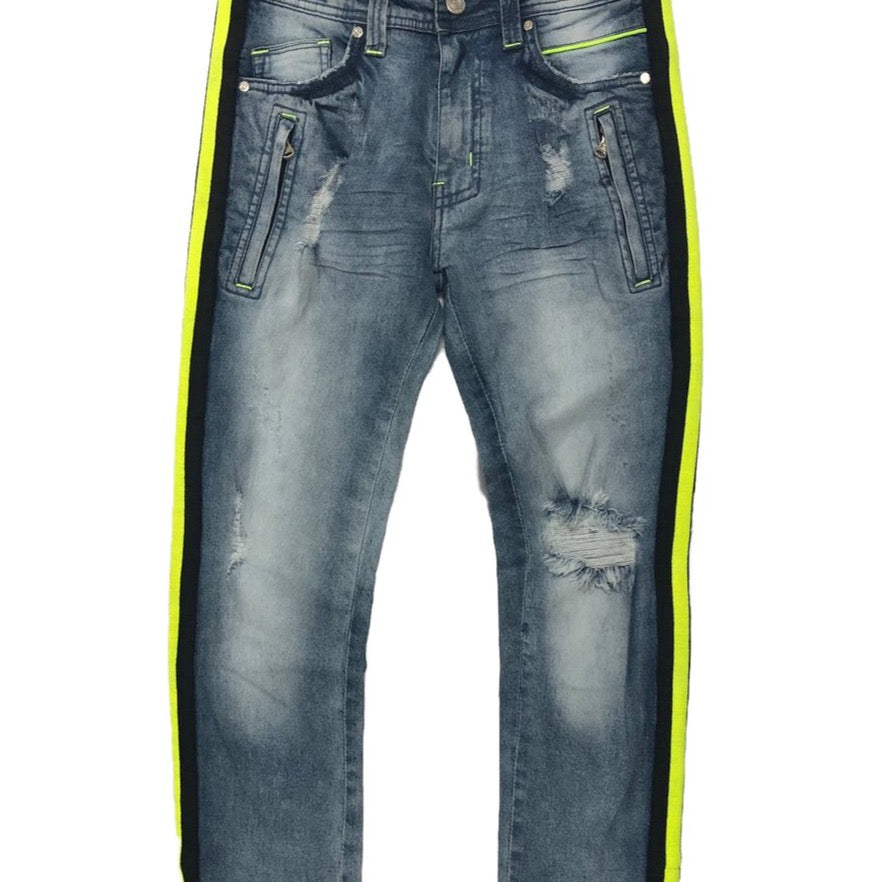 Elite Premium Denim Lime Light Jeans