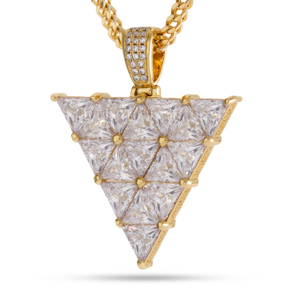 King Ice 14KT Gold Trinus Necklace