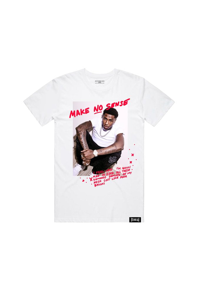 NBA Young Boy Make No Sense Tee