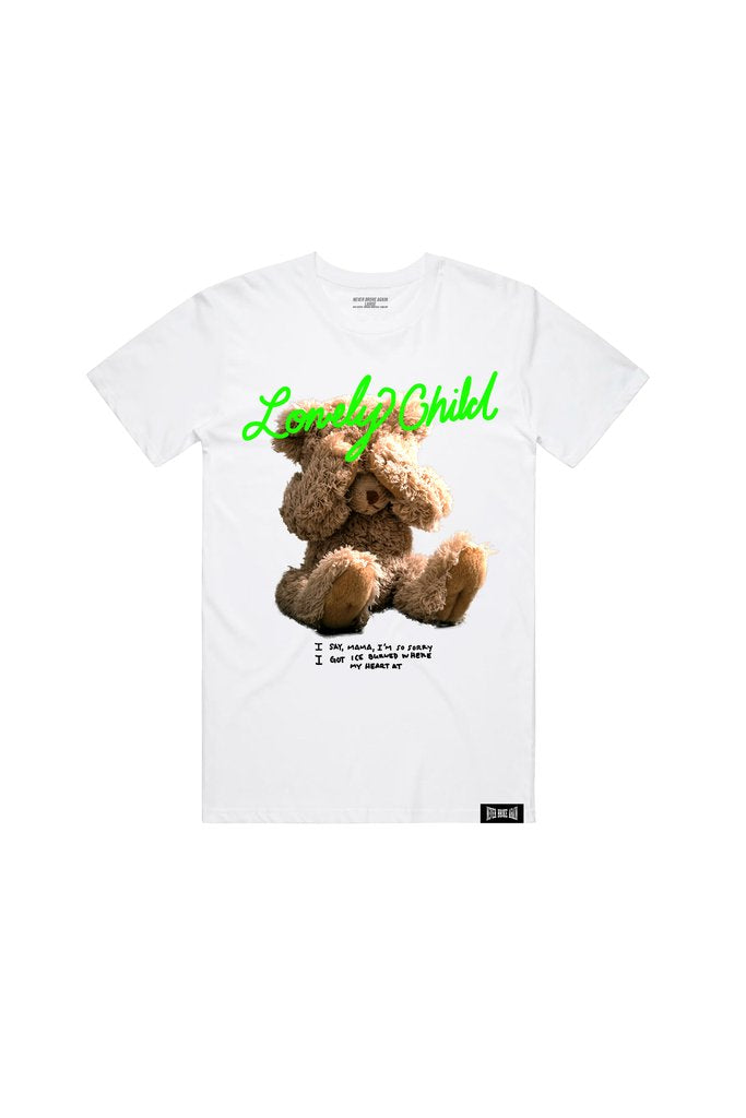 NBA Young Boy Lonely Child Bear Tee