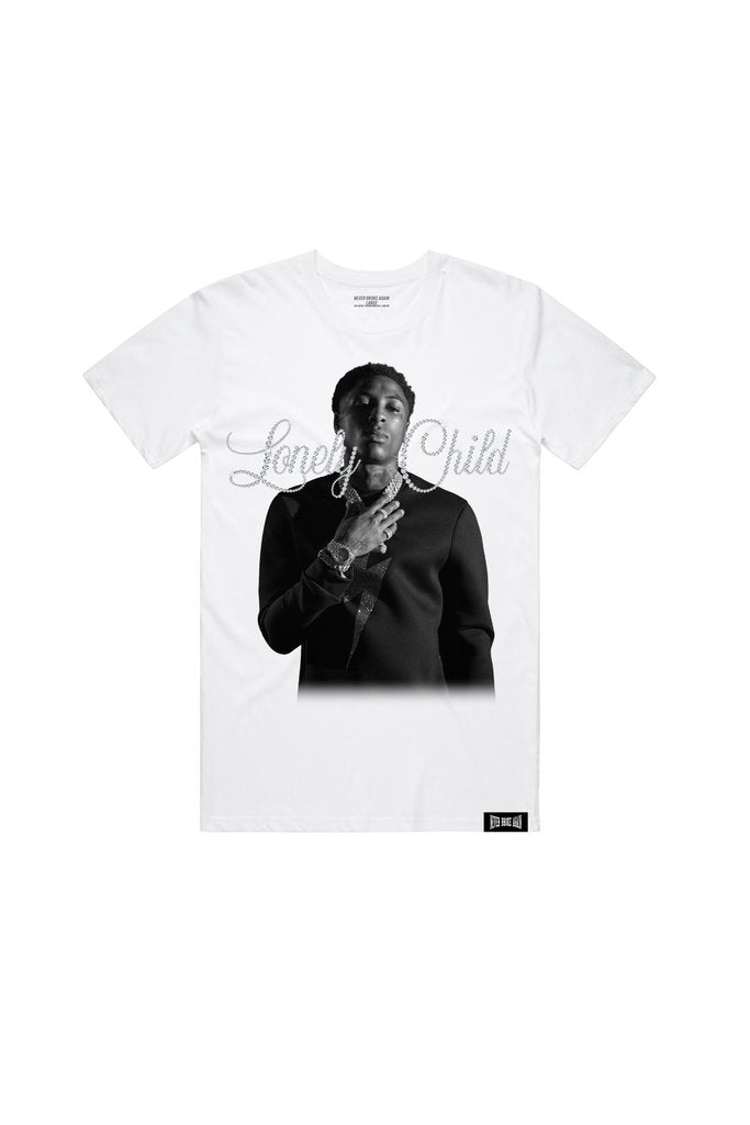 NBA Young Boy Lonely Child Tee
