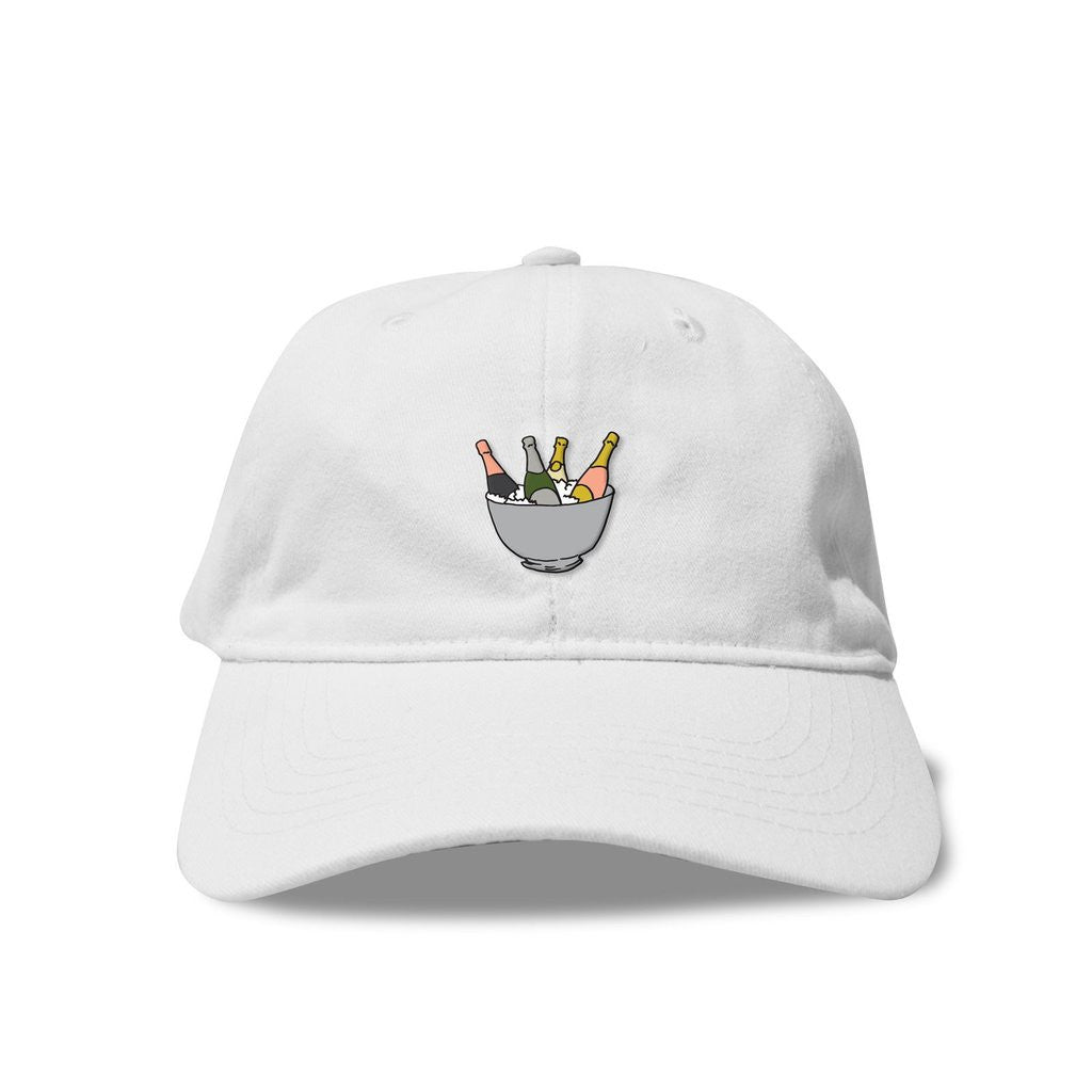 Bottle Service Dad Hat in Black