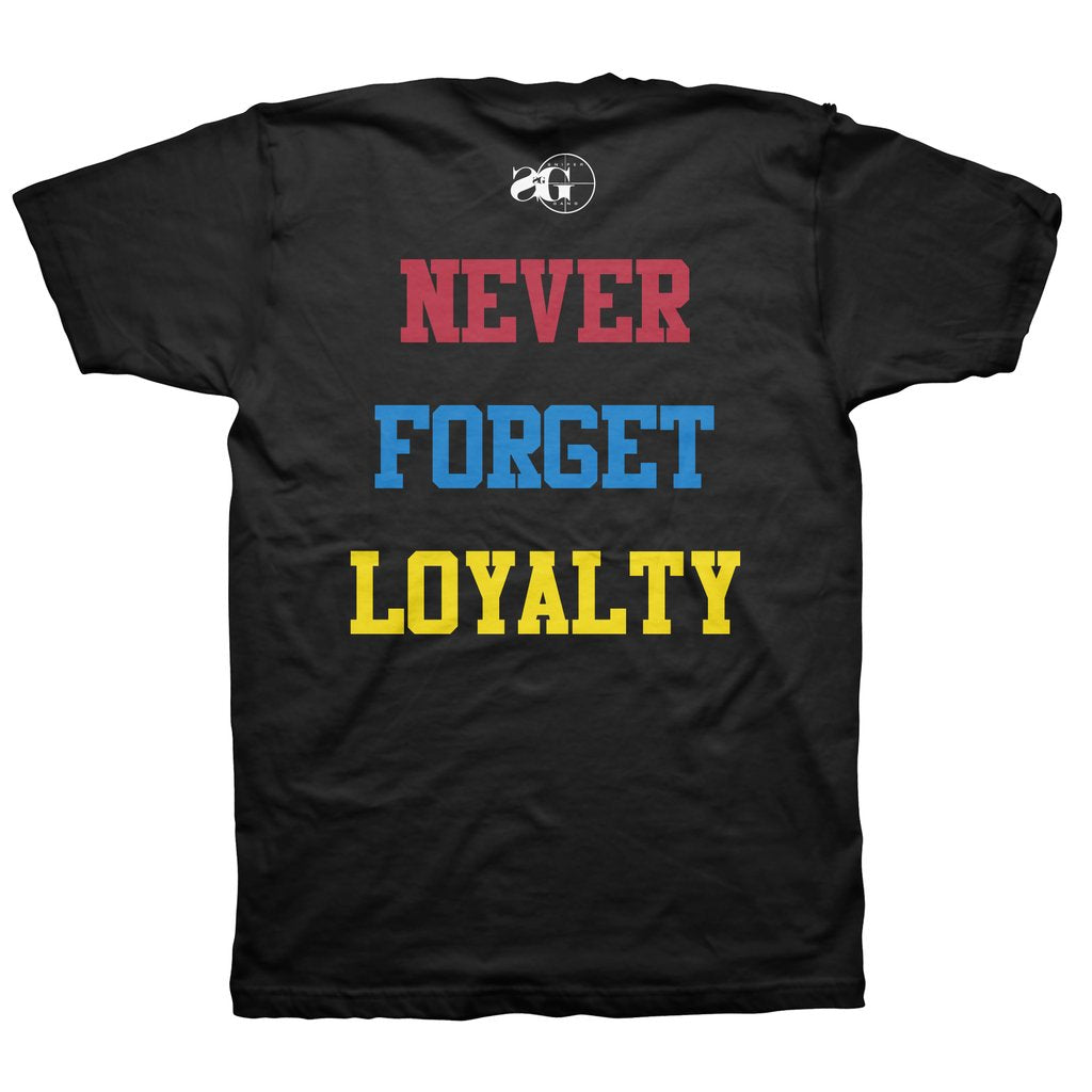 Sniper Gang Never Forget Loyalty Tee