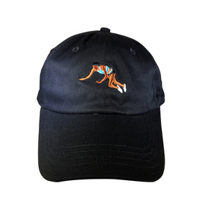 YNG Dive for Gold Dad Hat in Black