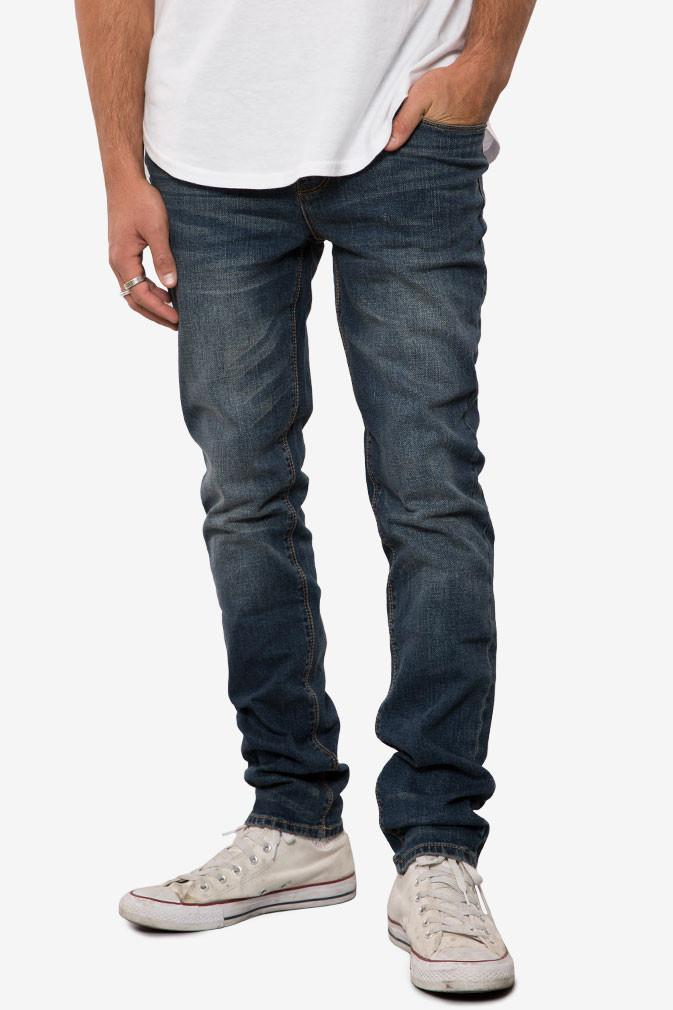 Elwood Medium Indigo Slim Tapered Denim