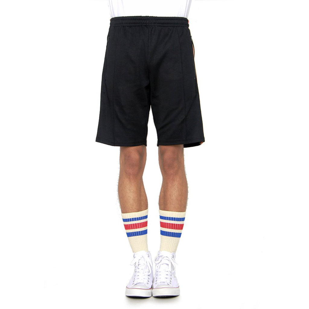 EPTM Olympic Track Shorts in Black