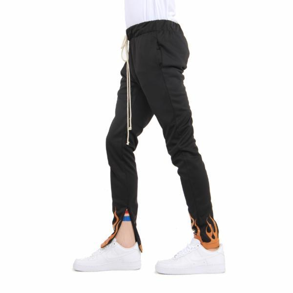 EPTM Flame Track Pants in Black