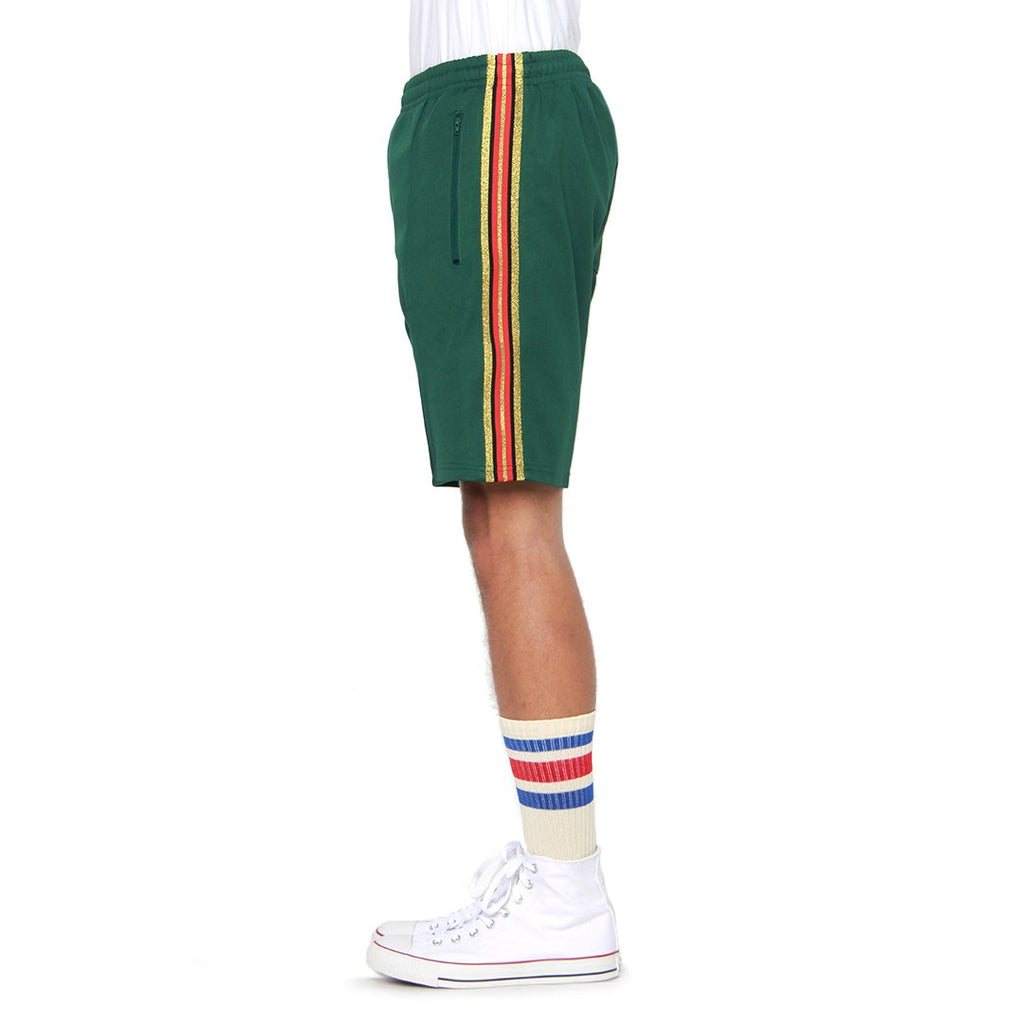 EPTM Olympic Track Shorts in Green