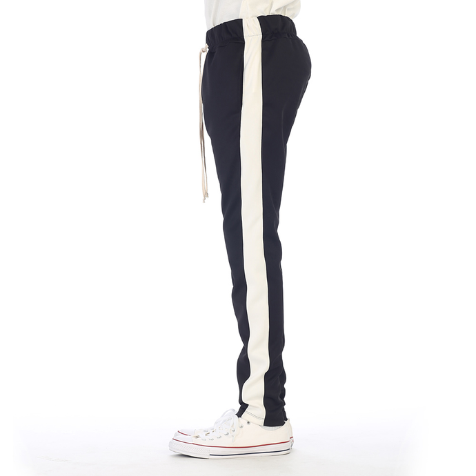 EPTM Techno Track Pants in Black/White