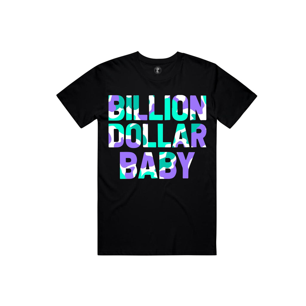 Billion Dollar Baby Grape Camo Tee