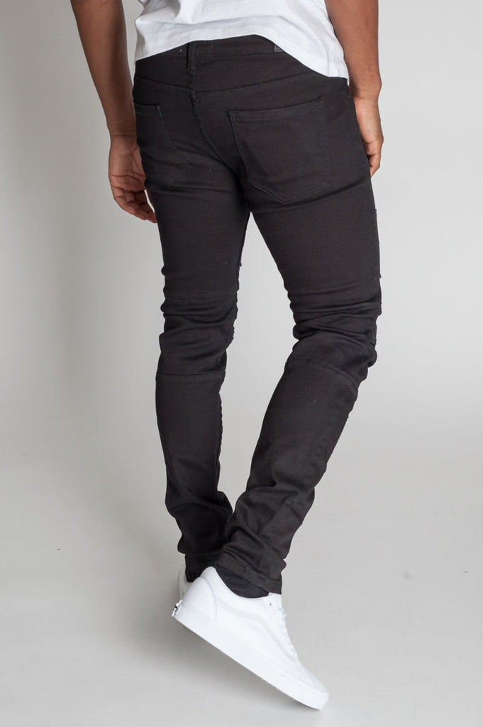 KDNK Destroyed Jeans w/ Panels
