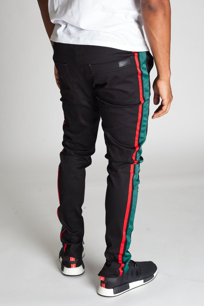 KDNK Double Striped Track Pants
