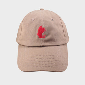 Last Kings The Foundation OG Dad Hat Brown/Red