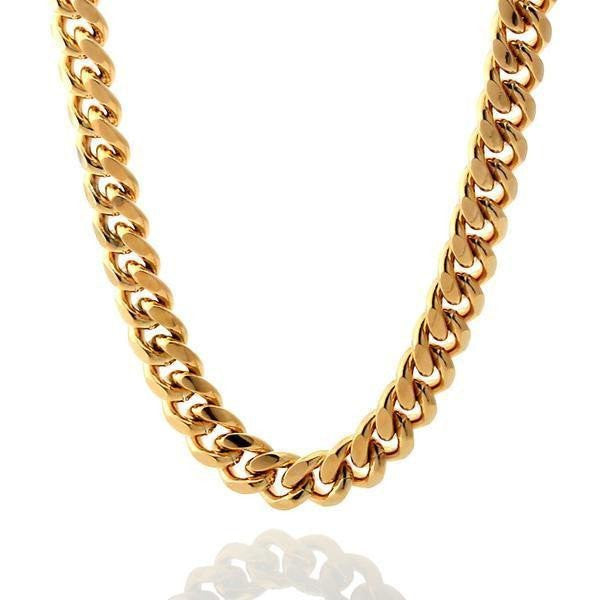 14kt Gold Miami Cuban Chain