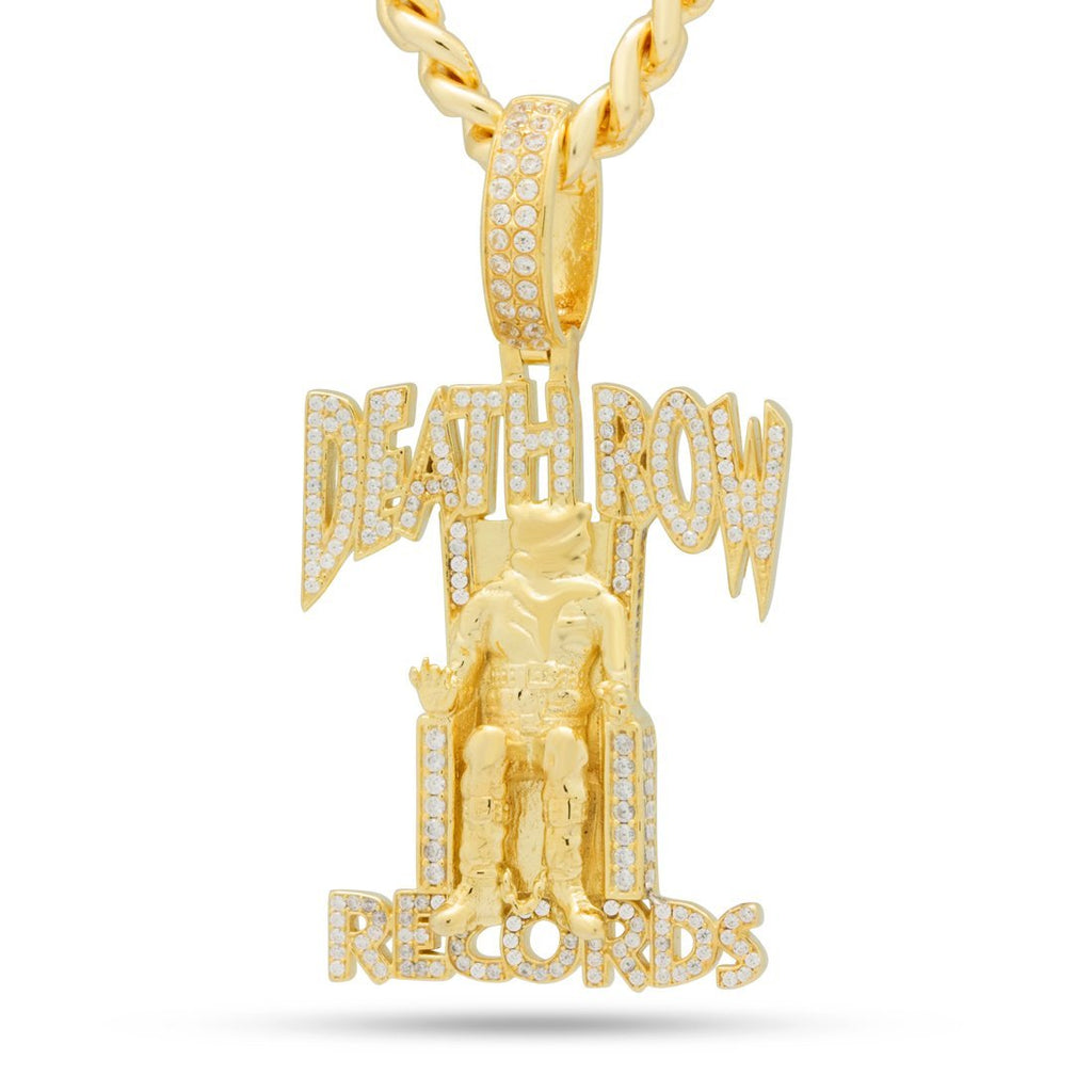 King Ice x Death Row Iced Necklace
